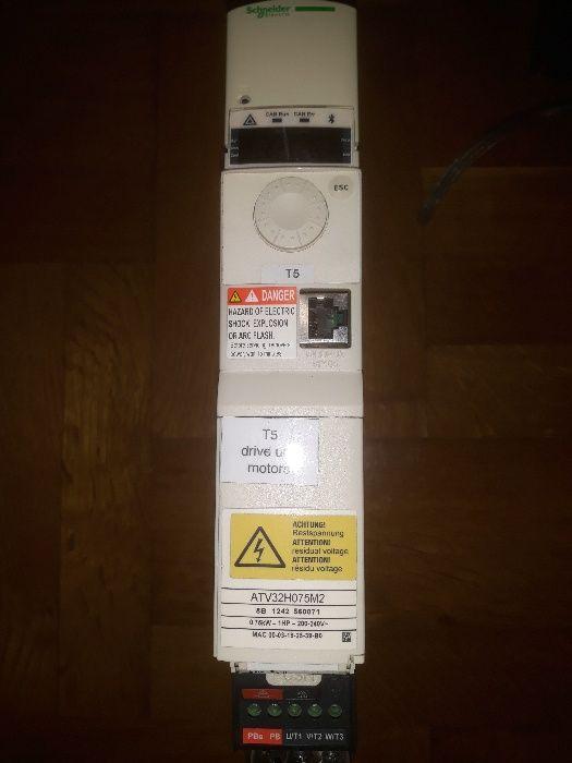 Честотен регулатор(инвертор) Schneider 0,75кw/230V