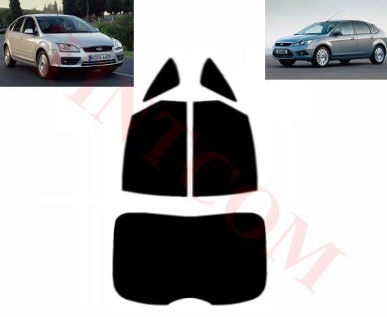 Ford Focus (5 врати, хечбек, 05 - 11) - Фолио за затъмняване на стъкла
