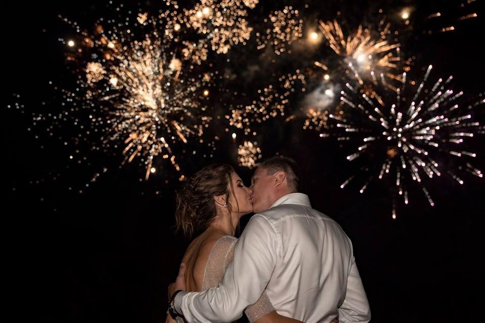 Spectacole pirotehnice artificii nunta - botez