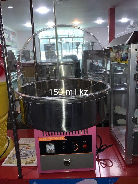 Vendo Máquina Algodao Doce com Tampa Zango - imagem 1