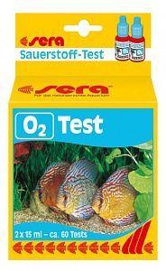 """Тест для воды SERA O2-Test 15 мл в """"Живом Уголке"""" в Таугуле"""