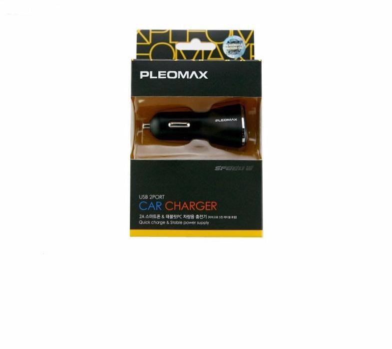 Incarcator dual USB 2PORT pt. bricheta masina - PLEOMAX SAMSUNG