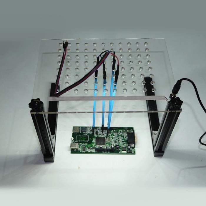 LED BDM Frame With LED Light 4 Probe Pins - Ktag KESS Galletto BDM100