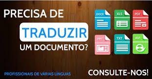 Tradução de Documentos de Espanhol/português, vice Versa