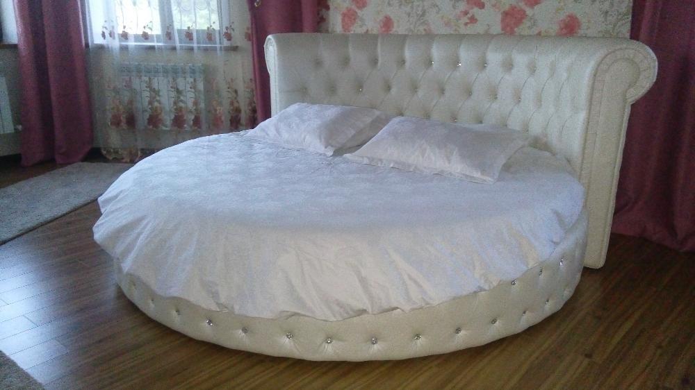 Постельное белье на круглую кровать