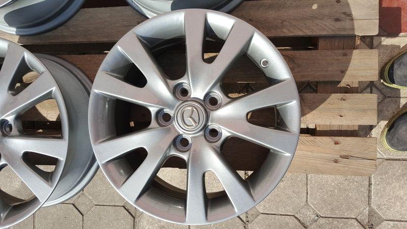 Jante Mazda 3 6.5x16 et 52.5 5x114,3 Oradea - imagine 4