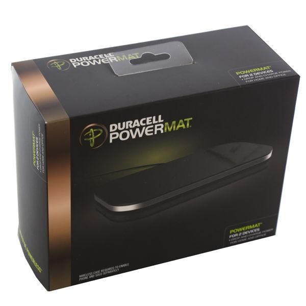 Incarcator Wireless Duracell Powermat for 2 Devices - ptr 2 telefoane
