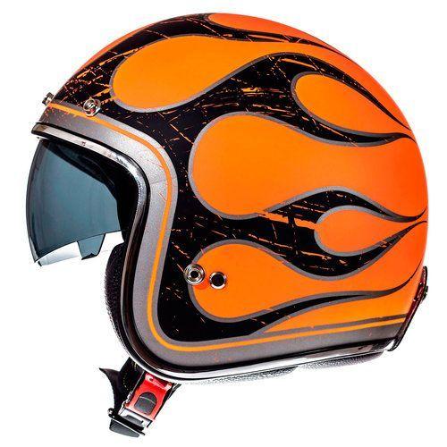 Casca MT Le Mans SV Flaming Noua