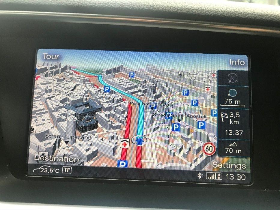Update Actualizare Harti 2019 Navigatie MMI 3G Audi A4 A5 A6 A8 Q5 VW