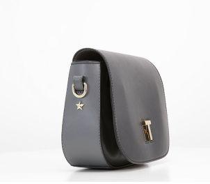 Оригинална дамска чанта Tommy Hilfiger от естествена кожа