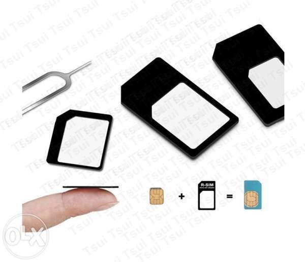 Adaptor cartela sim Iphone Samsung Nokia Lenovo Htc Microsim Nanosim