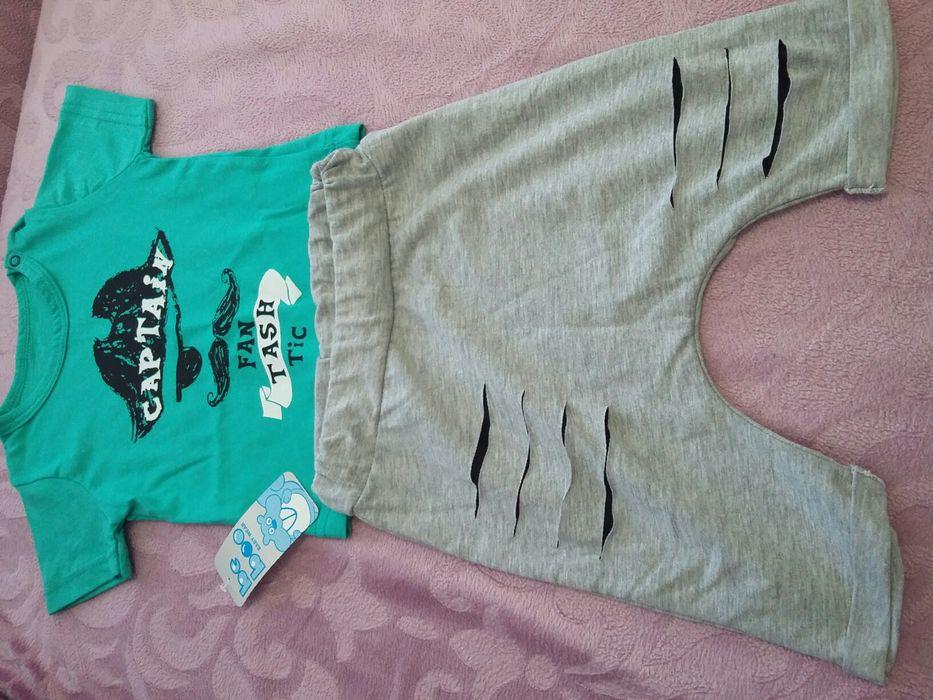 Бебешки комплект тениска+потур