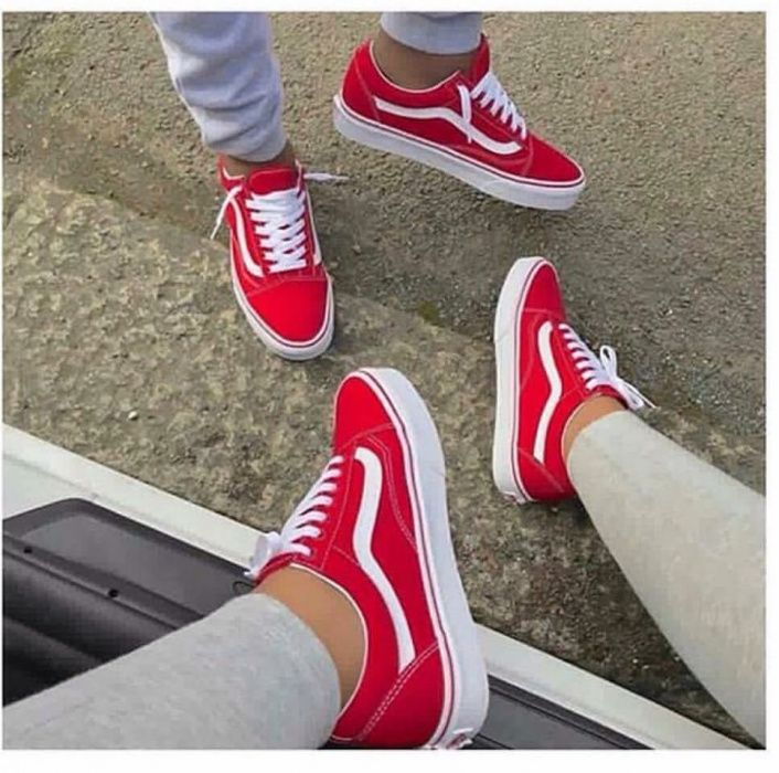 Vans Oldskool Red