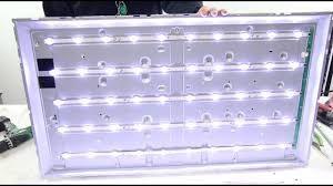 Reparatii backlight/ inlocuire leduri tv LED