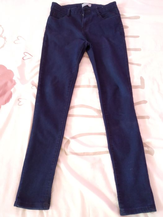 Calça Jeans skinny azul tamanho 34