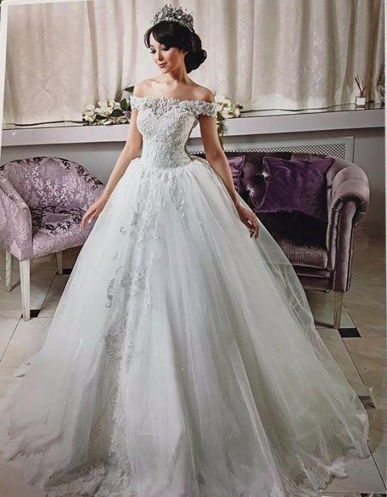 Продам белое свадебное платье!