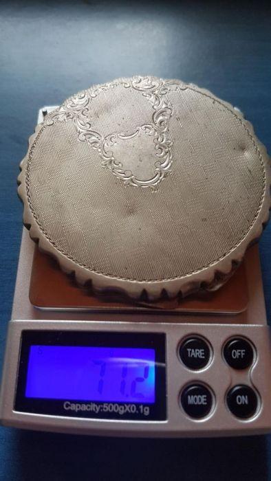 Pudriera argint antica argint