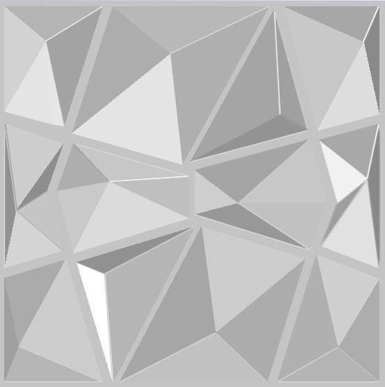 НАЛИЧНИ!!! 3d панел Diamond 50/50 за декорация на стени и тавани