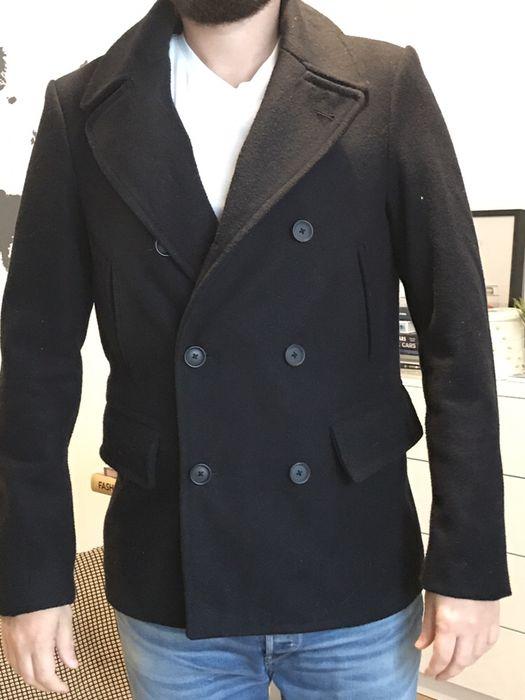 Palton gros Asos Man lana si bumbac