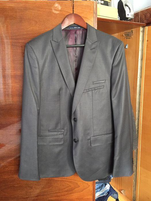 Sacou barbatesc Zara mar L 100% lana