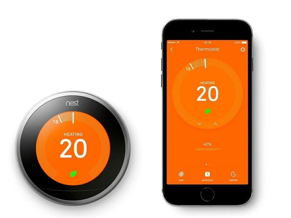 Oferta montaj + termostat Nest 3 wireless si wifi, ambient centrala