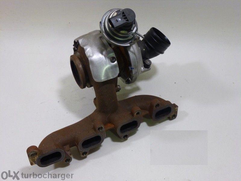 Продавам турбо - турбина за Vw Polo , Двигател (cayc) :