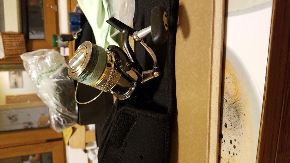 SHIMANO Stella 2500FE - mulineta spinning ca noua cu tambur de rezerva