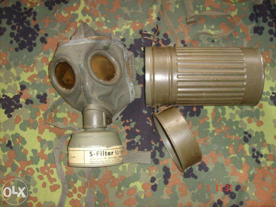 Mască de protecție contra gazelor germană WW II