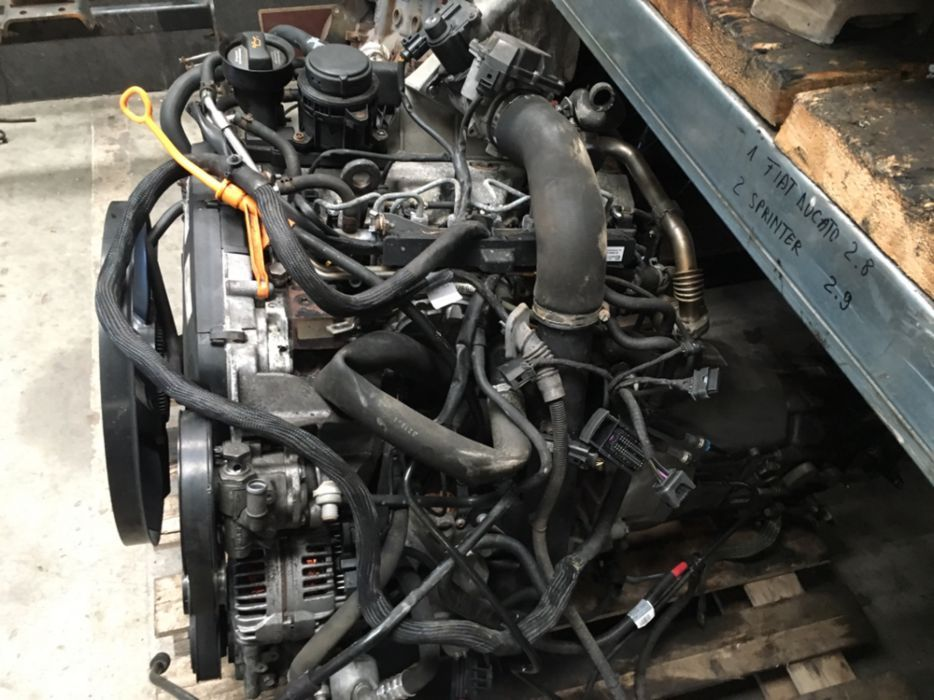 motor vw Crafter 2.5 TDI euro 5