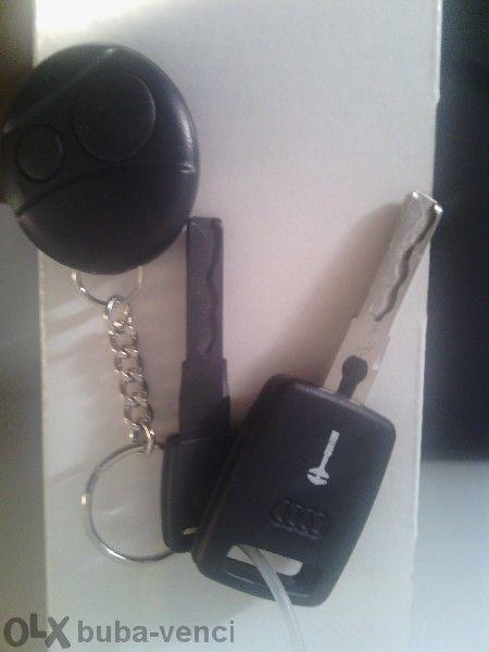 Оригинален ключ за Ауди с имобилайзер