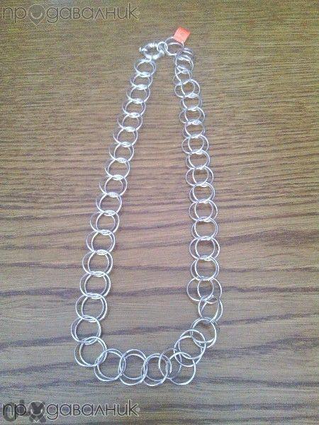 Продавам сребърен ланец