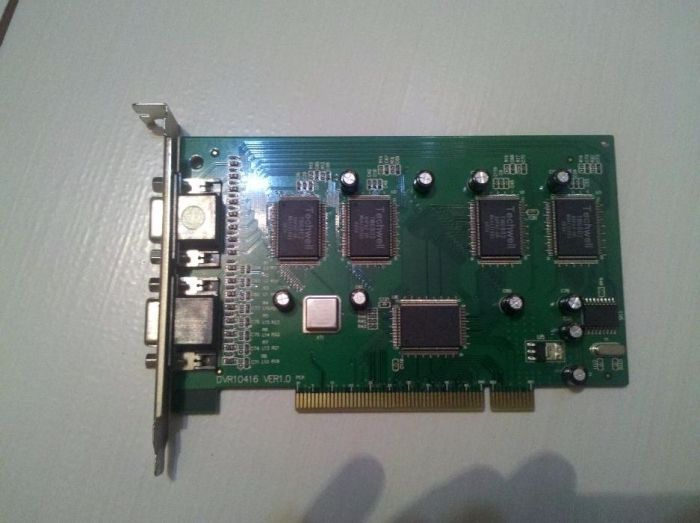 placa PCI DVR 16 canale H264
