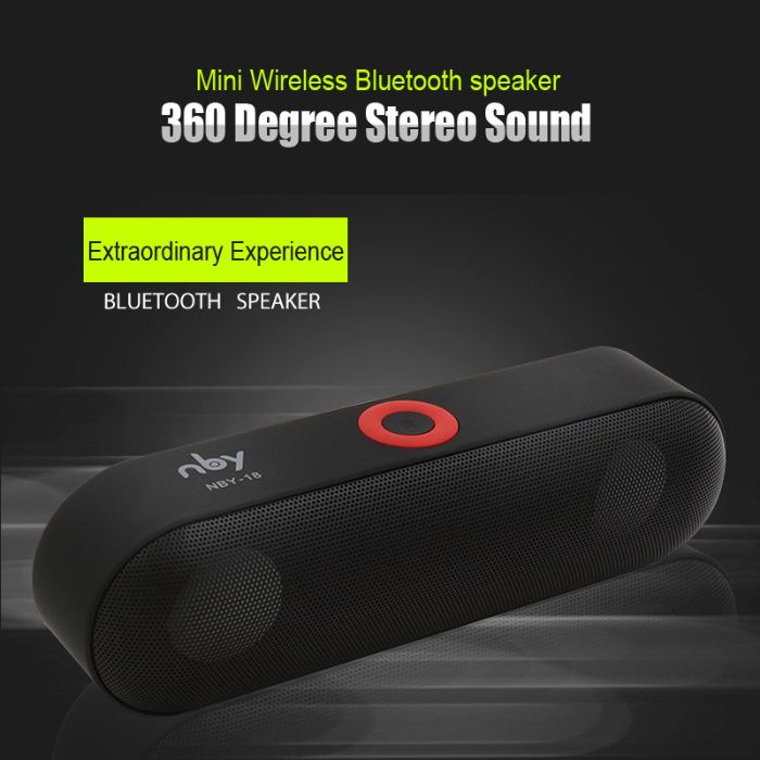 Mini Bluetooth Speaker Portable Wireless Speaker Sound System 3D колон