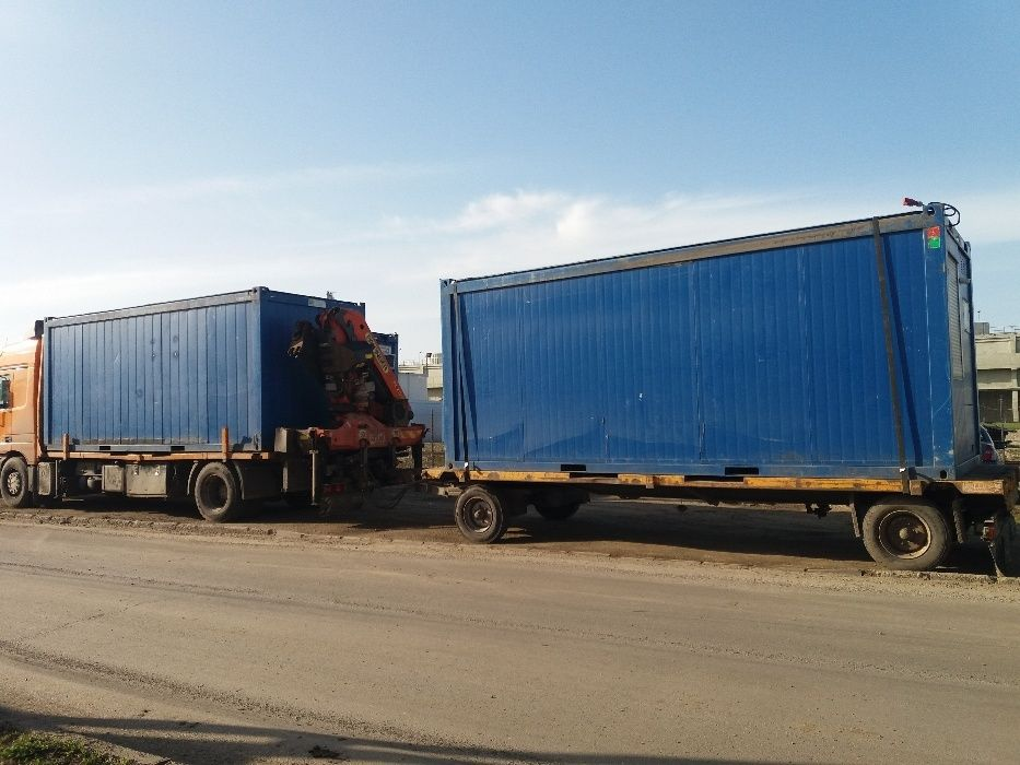 Transport Macara IEFTIN de 10 tone, Transport Containere Birou
