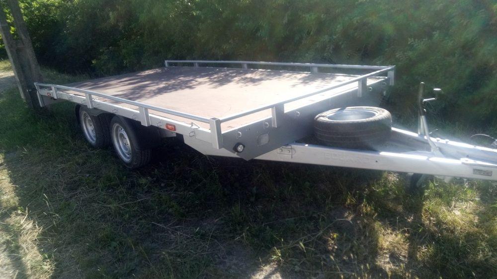 Inchiriez remorca-platforma auto