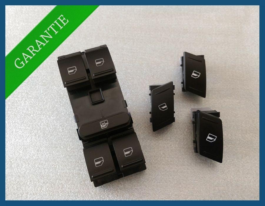 Consola + 3x butoane geamuri electrice Skoda Octavia 2