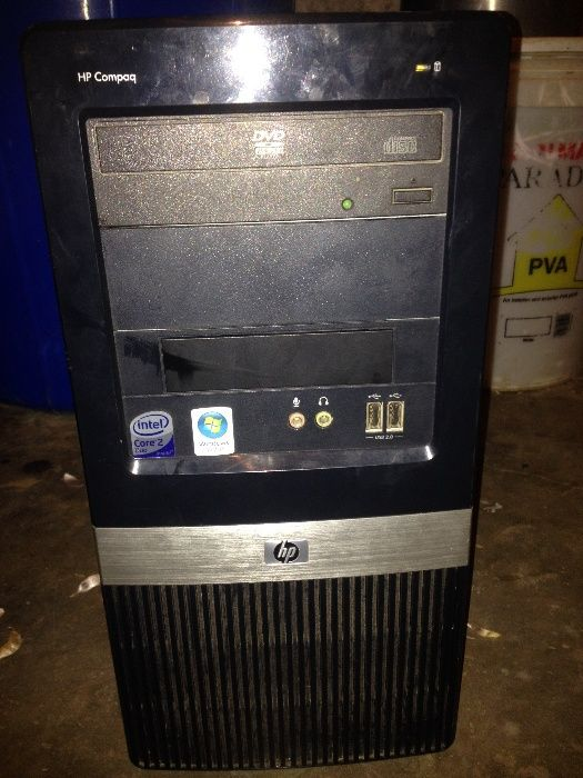 Pc HP Orgipnal core 2duo ddr3 ram 4gb ram 250gb clean Bairro - imagem 2