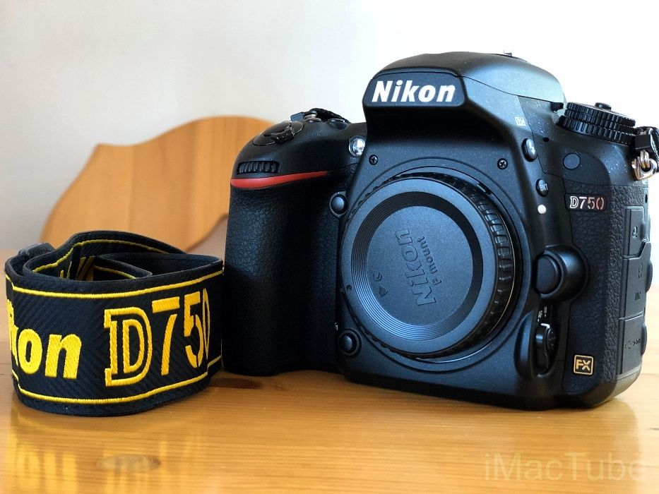 Pachet DSRL NIKON D750 FullFrame - complect pentru profesioniști