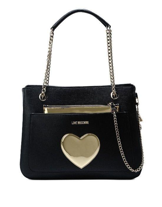 Нова Оригинална чанта Love Moschino с протмоне