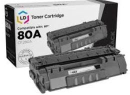 Toner HP 80A Black CF280A Compativel