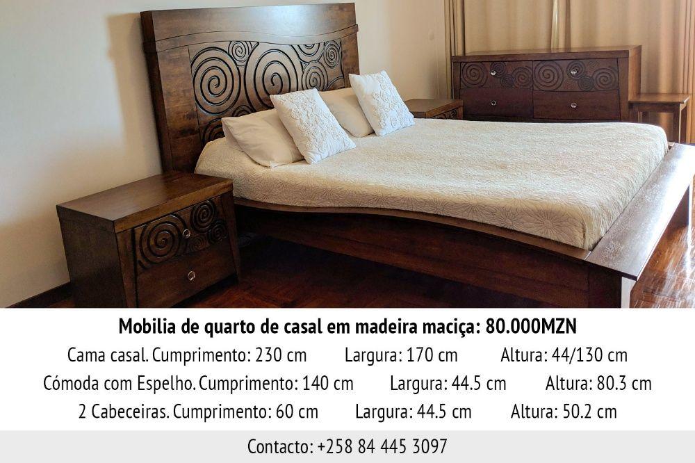 Mobília de quarto de casal