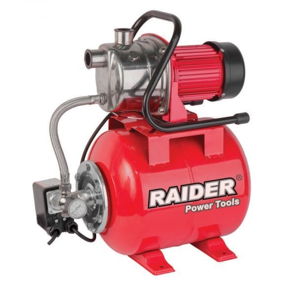 Hidrofor inox cu rezervor presiune Raider RD-WP1200J, 1200 W