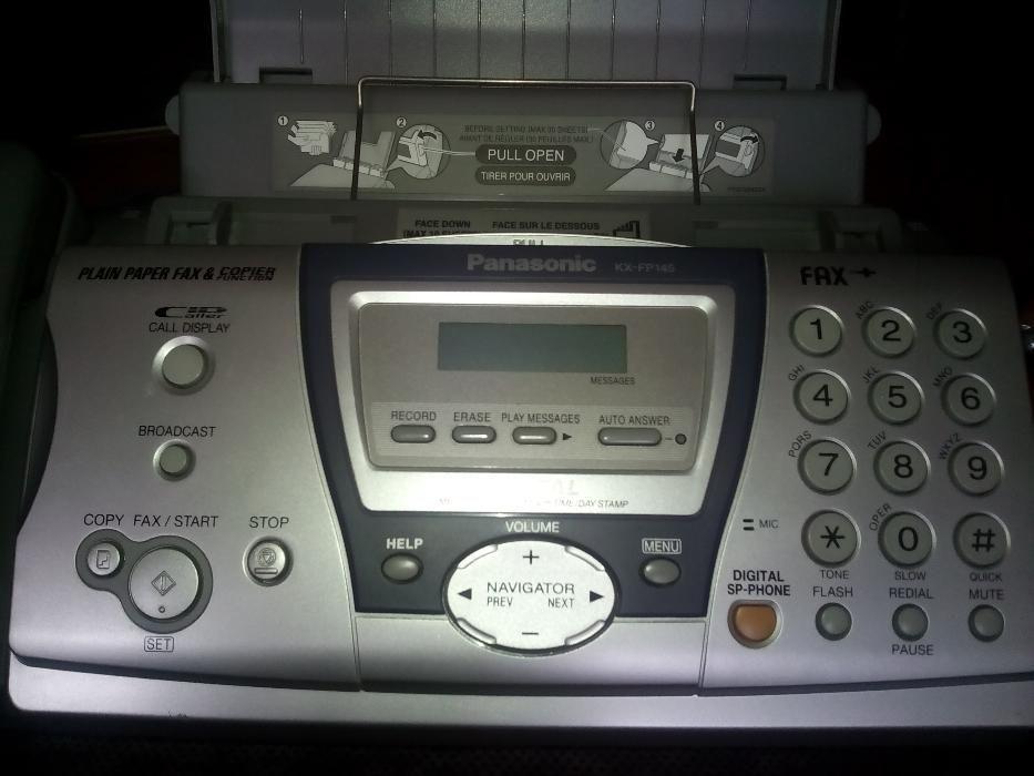 "Телефон, факс и секретар ""Panasonic"" KX- FP145"""