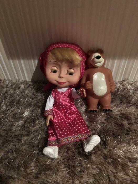 Кукла Маша с мечока