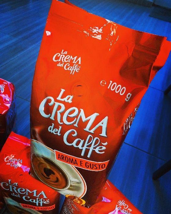 ПРОМОЦИЯ !!! Pellini La Crema Del Caffe Ла Крема Дел Кафе на зърна 1кг