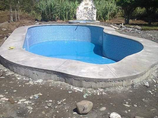 Construção de piscinas em alvenaria e betão