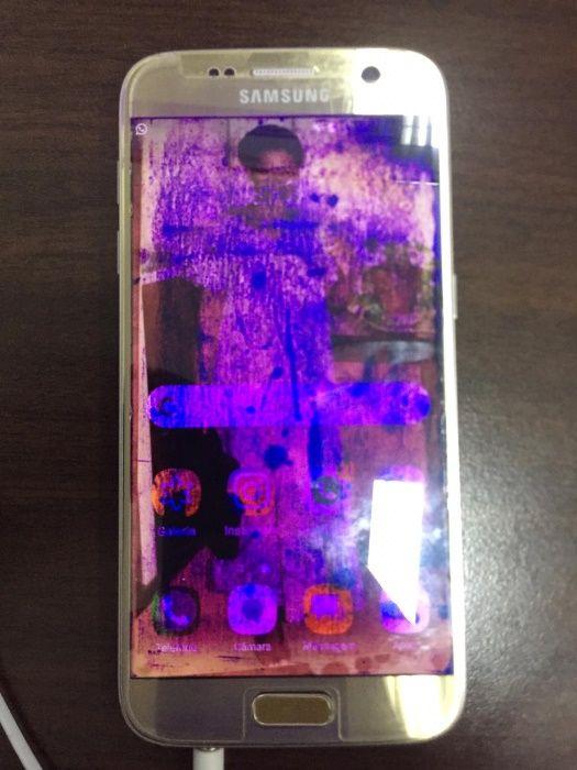 Galaxy S7 Gold edition Bairro do Jardim - imagem 2