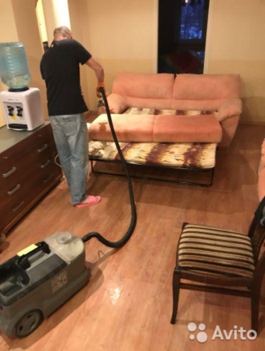 Химчистка чистка мягкой мебели диван и кресла ковры ковролин в Алматы