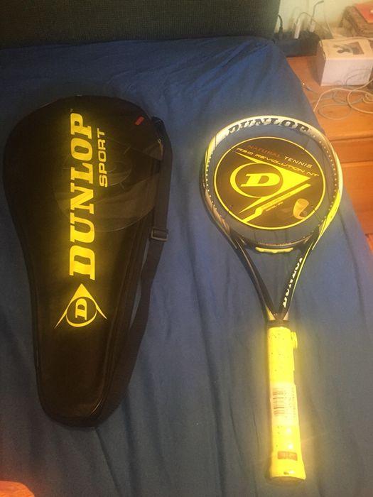Чисто нова тенис ракета Dunlop + подарък кордаж