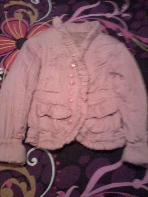 розово дебело зимно яке модел сако-30лв.